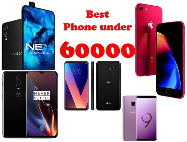 Best Phone under 60000 in India