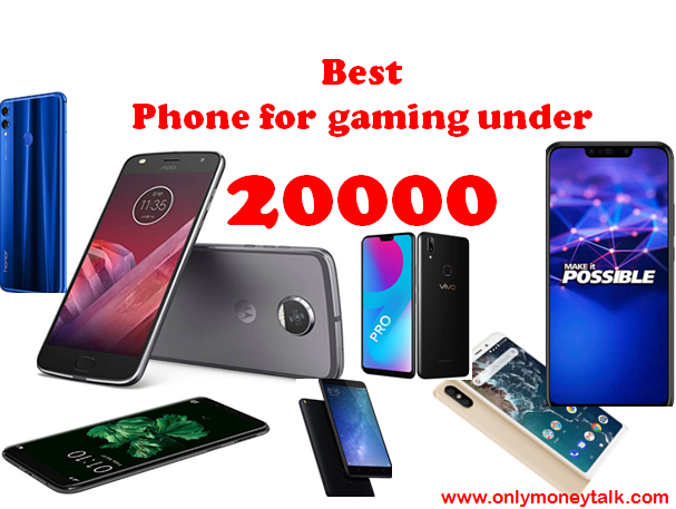 Best phone for gaming in India onlymoneytalk